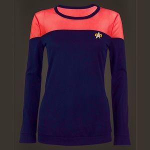 Star Trek Black Long Sleeve Shirt